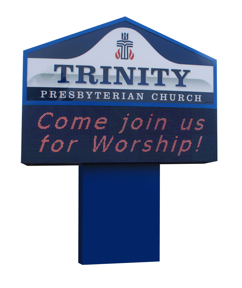 FREESTANDING CHURCH SIGNS